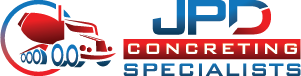 JPD Concreting Specialists Logo